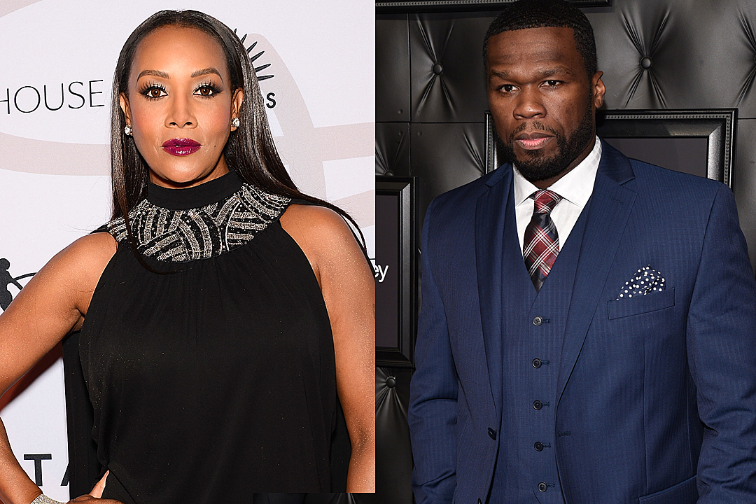 50 Cent Firees Back at Vivica A. Fox After Insinuating He's Gay